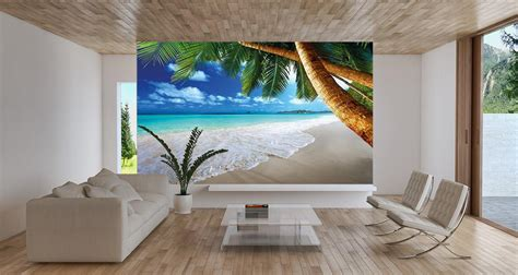 wall murals tropical wall mural best free home design idea inspiration