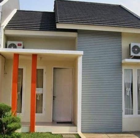 contoh denah rumah tipe  blog material bangunan
