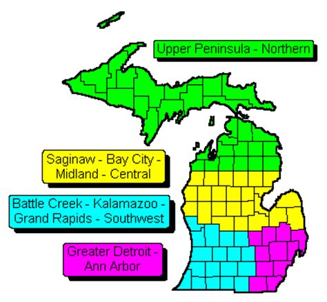 michigan zip code map michigan state regional zip code wall maps swiftmaps