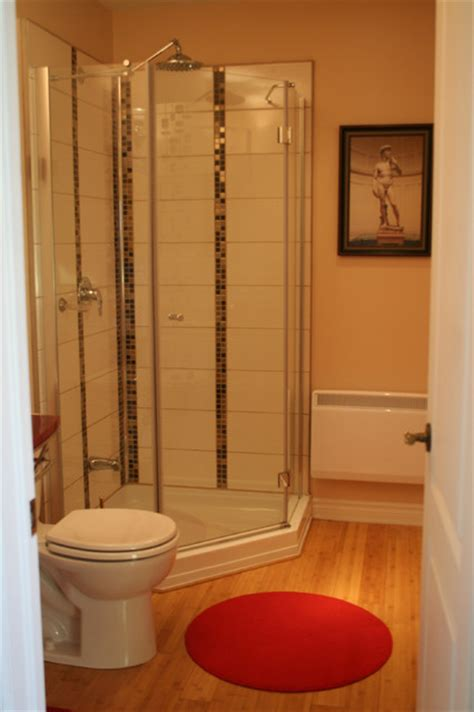 bamboo flooring in bathroom bamboo floor in bathroom modern bathroom montreal