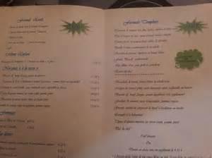 menu photo de le comptoir des templiers noyon tripadvisor
