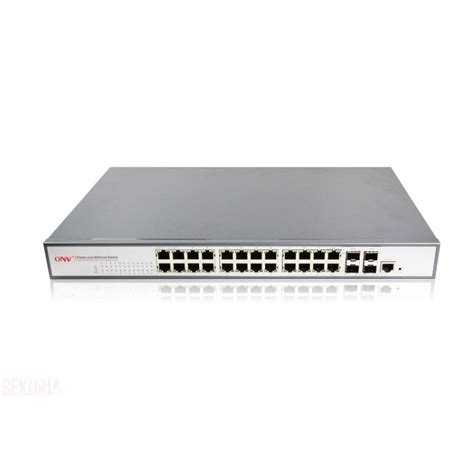 gigabit switch 24 port switch web management poe management gigabit 24 ports 600w