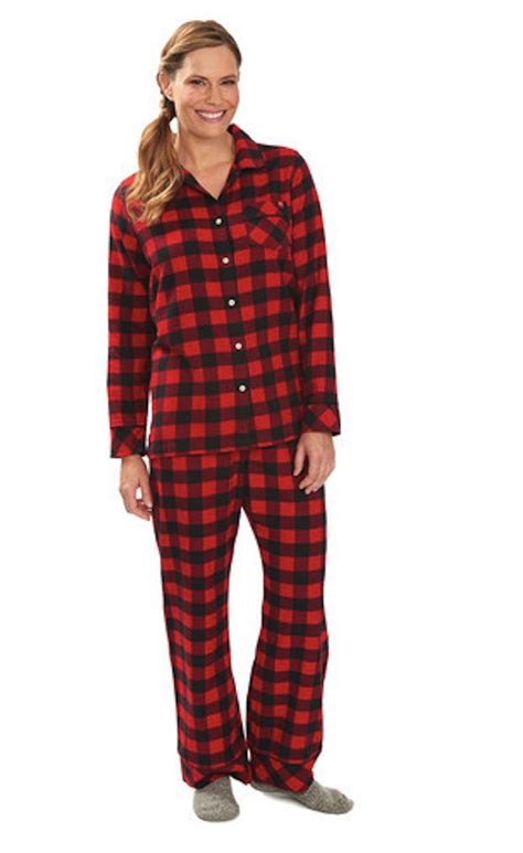 Set Flanel 2 8 flannel pajamas for with osteoarthritis