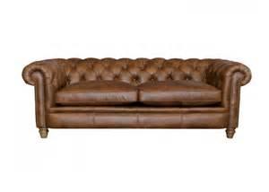 Large Leather Sofa Abraham Junior Large Leather Sofa