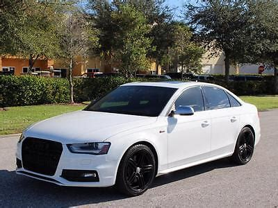 2013 audi s4 white cars for sale