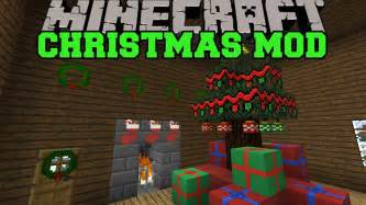 minecraft christmas mod santa gives you presents