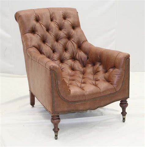 old hickory tannery tufted leather chair ottoman leather fireside club chair old hickory tannery furniture