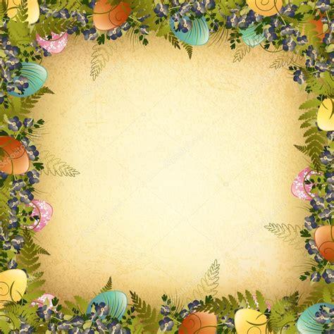 Type Of Cornice Vintage Easter Background Stock Vector 169 S Razvodovskij