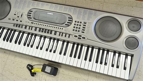 Keyboard Casio Wk 1800 Bekas Casio Wk 1800 76 Key Synthesizer Keyboard Reverb