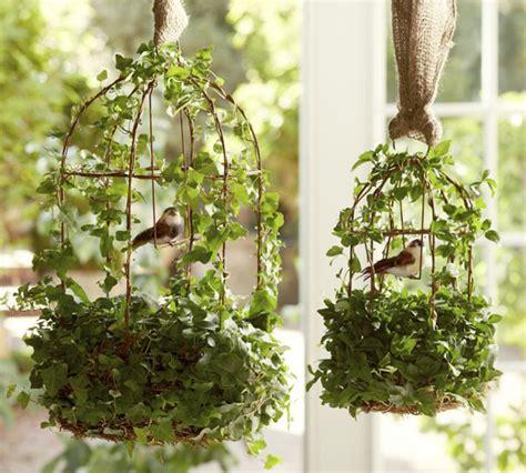 Home Decor Bird Cage diy shabby chic flower birdcages