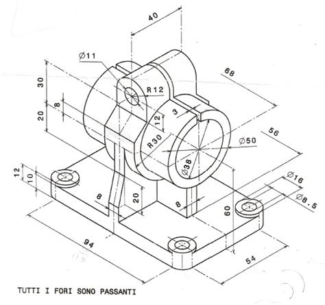 tavole disegno meccanico studio brianza progettazione amministrazioni