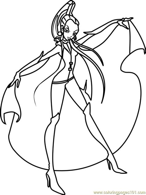winx club coloring pages icy winx club coloring page free winx club coloring
