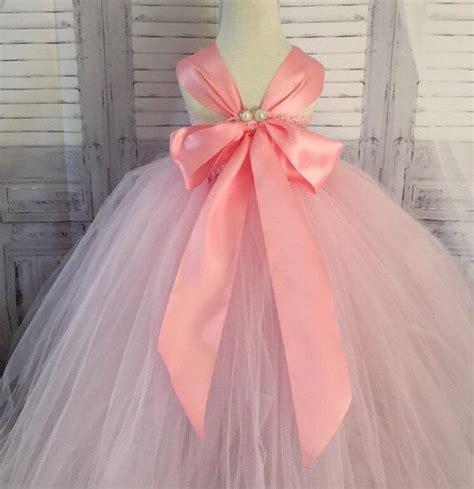 light pink toddler dress light pink flower dress pinkflower dress