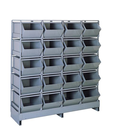 Rack Base Stackbin Pallet Style Rack Bases