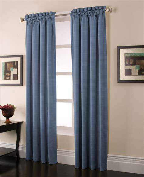 jaclyn smith curtains drapes stockton blue blackout panels save on heating and cooling