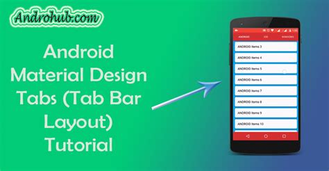 android material design layout tutorial android material design tabs using tablayout