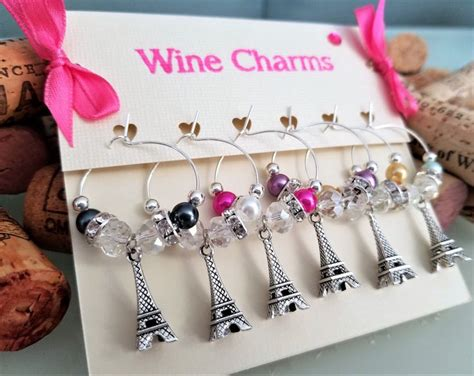 birthday themed wine charms 244 best wine glass charms images on pinterest christmas