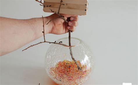 cara membuat miniatur rumah pohon treehouse tutorial kerajinan tangan