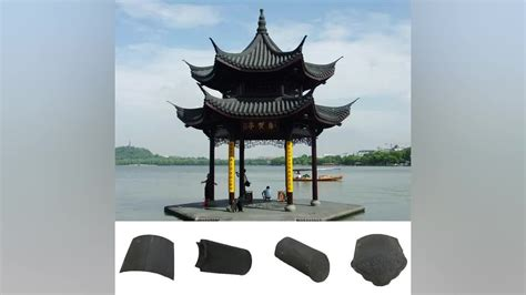 ancient clay roof tiled buildings temple building material ancient clay roof