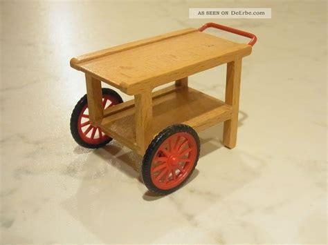 teewagen holz teewagen servierwagen aus holz caco f 252 r die puppenstube