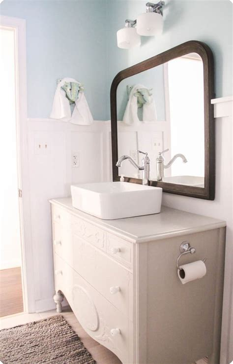 diy vessel sink vanity 17 best ideas about dresser bathroom vanities on