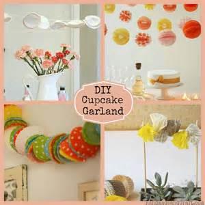 Cheap Garlands For Weddings Cupcake Liner Garland 7 Diy Party Ideas