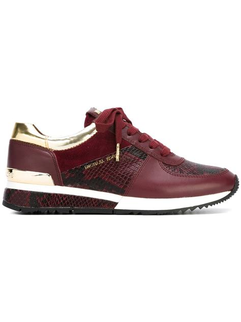 michael kors sneakers lyst michael michael kors wrap sneakers in