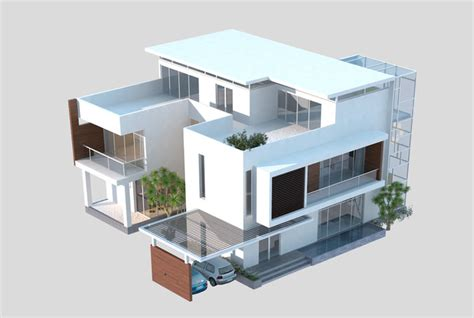 3d modeling house 3d models luxury contemporary house 3d model max obj cgtrader