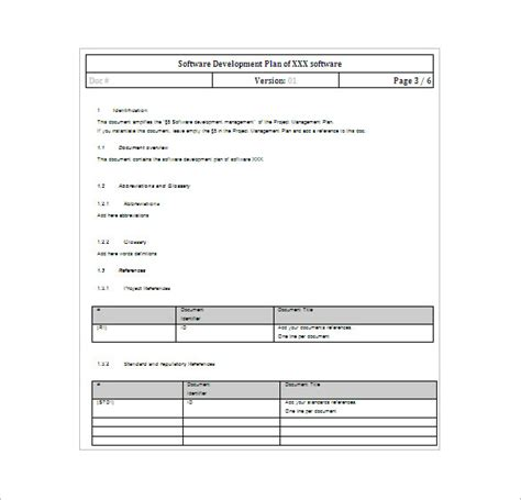 Application Development Project Plan Template by 23 Project Plan Template Doc Excel Pdf Free