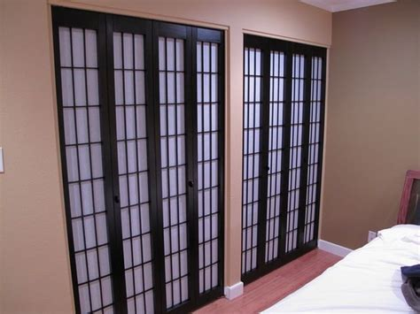 Shoji Style Closet Doors Diy Shoji Style Closet Doors More Square Pennies