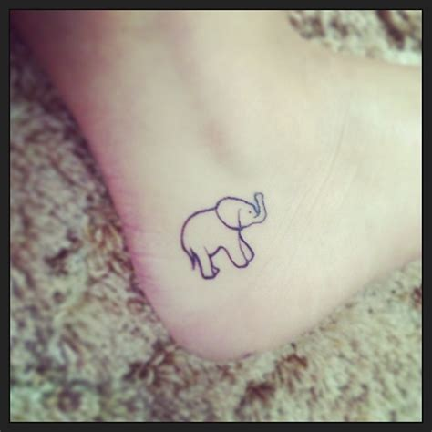 simple elephant tattoos collection