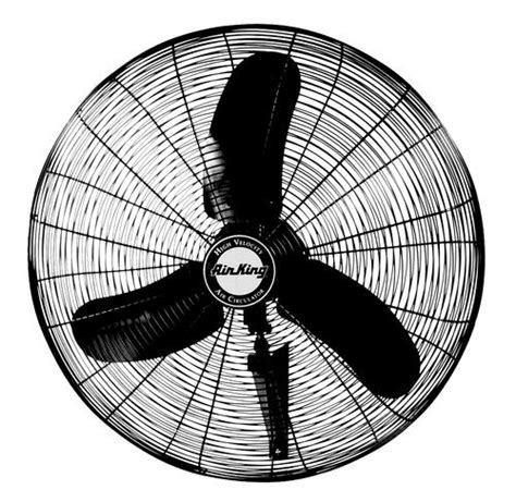 air king wall fan air king 9074 1 3 hp industrial grade oscillating wall