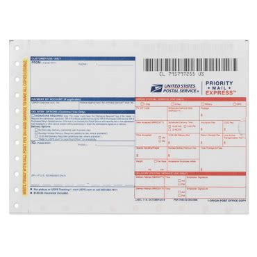 priority mail express label | usps.com