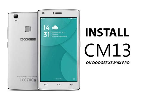 install unofficial cm  doogee  max pro