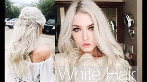 hair white how to white platinum hair