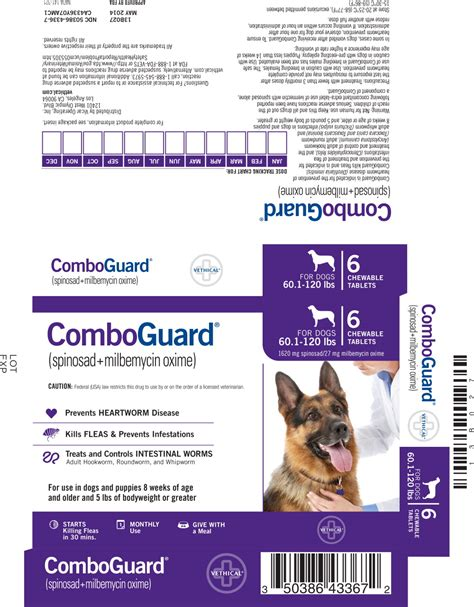 comboguard for dogs dailymed comboguard spinosad and milbemycin oxime tablet chewable