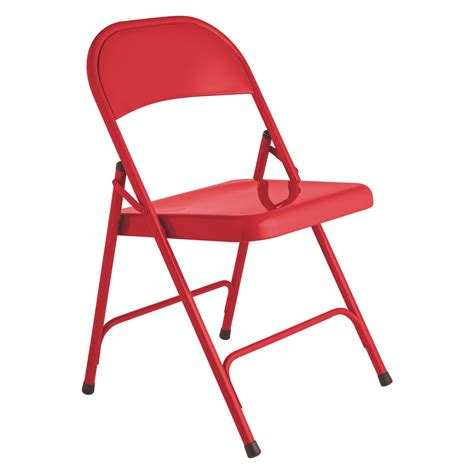 foldable chairs macadam red metal folding chair buy now at habitat uk