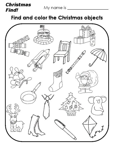 printable christmas pictures for preschoolers preschool christmas worksheets printables