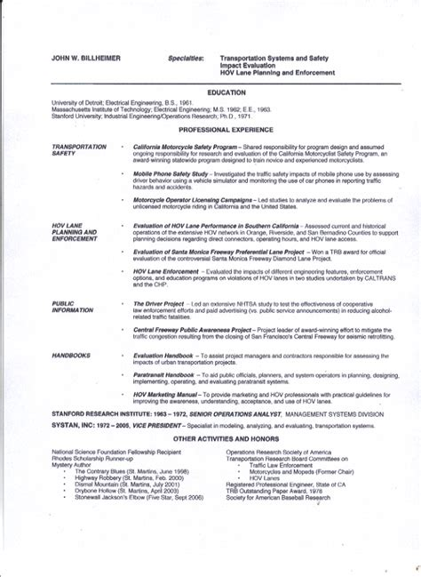 the author professional resume