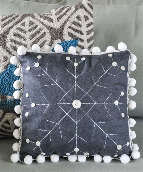 snowflake pattern to sew how to make a winter snowflake pillow weallsew bernina