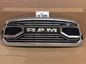 2016 dodge ram 1500 front chrome grille fits laramie