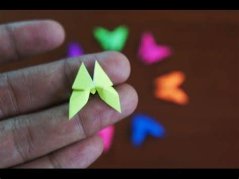 Small Origami - origami how to make and butterflies on