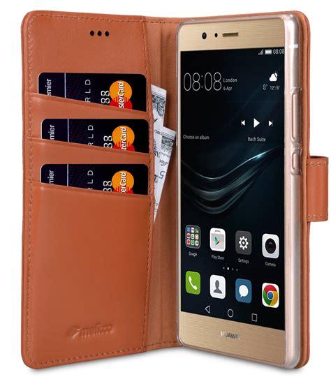 Huawei P9 Lite Genuine Leather Casing Kulit Origin Diskon huawei p9 lite mobile cases cellphone genuine leather flip wallet book