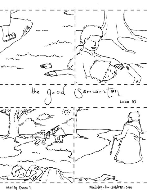 the samaritan coloring page the samaritan coloring pages crafts