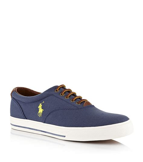 polo shoes for polo ralph vaughn oxford shoe in blue for lyst