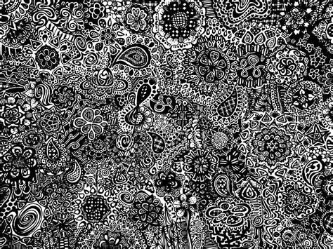 wallpaper black doodle doodling time by epsilonya on deviantart
