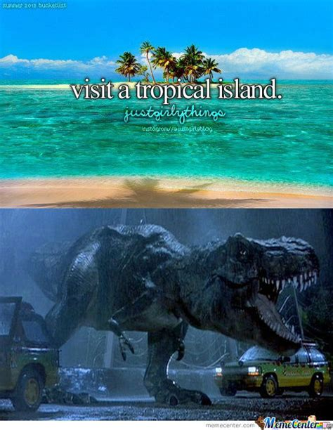 Island Meme - visiting a tropical island by thwildman471 meme center