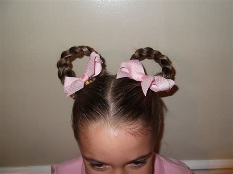 girl hairstyles for picture day little girl s hairstyles crazy hair day pretty hair is