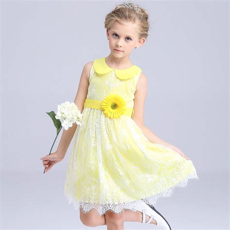 Blue Yellow Flower Tshirt T3010 1 aliexpress buy flower dresses royal blue
