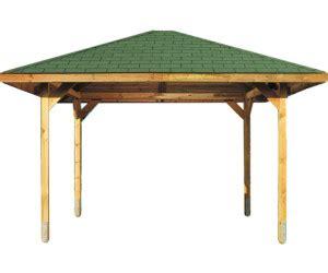 Holz Pavillon 3 X 4 M by Weka Pavillon Paradies 4 4 33 X 4 33 M Ab 1 177 00